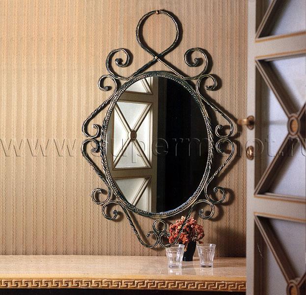 Зеркало в кованой раме своими руками 6